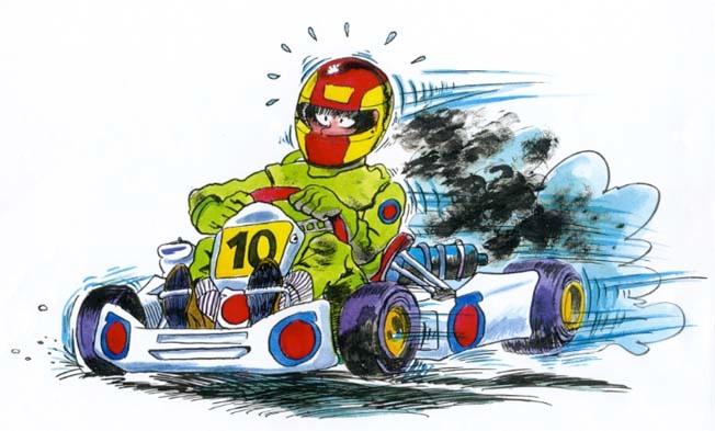 Lapierre Bande Dessinee Cartoon Karting 3